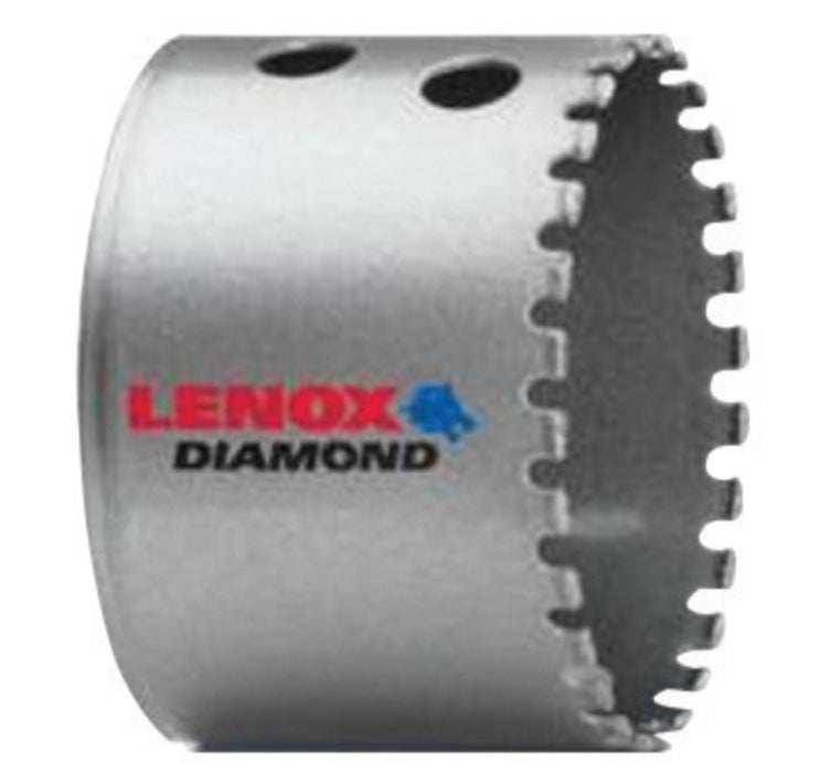 "2"" Lenox® Standard Diamond Grit Hole Saw For Use With 2L, 3L, 6L, 7L Standard And 2L, 6L Snap-Back™ Arbors, Package Size: 32 Each"
