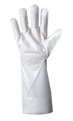 Ansell Size 11 White Barrier® 380 - 410 mm Non-Woven Lined 2.5 mil Five Layer Laminated Film Hand Specific Chemical Resistant Gloves