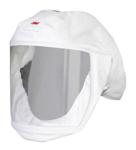 3M'Ñ¢ Medium/Large Polypropylene S-Series Versaflo'Ñ¢ White Headcover With Integrated Head Suspension (For Use With Certain 3M'Ñ¢ Powered Air Purifying And Supplied Air Respirator Systems)