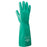 "Radnor® Size 8 Green Radnor® 13"" Unlined 11 mil Unsupported Nitrile Gloves With Sand Patch Finish"