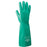 "Radnor® Size 9 Green Radnor® 13"" Unlined 15 mil Unsupported Nitrile Gloves With Sand Patch Finish"