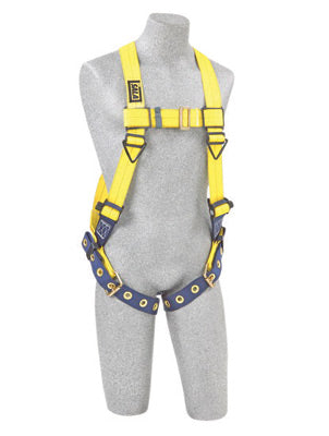 DBI/SALA® Universal Delta™ No-Tangle™ Full Body/Vest Style Harness With Back D-Ring And Tongue Leg Strap Buckle