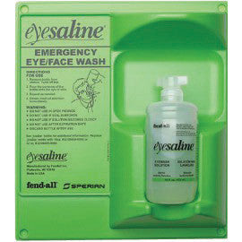 Fend-all® 16 Ounce Single Bottle Eyesaline® Sperian Sterile Eye Wash Wall Station