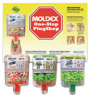 Moldex® Goin' Green® One-Stop PlugShop™ PlugStation® Pura-Fit™ SparkPlugs® Tapered Foam Polyurethane Dispenser