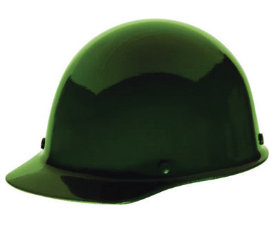MSA Green Skullgard® Phenolic Cap Style Hard Hat With Staz On® 4 Point Pinlock Suspension