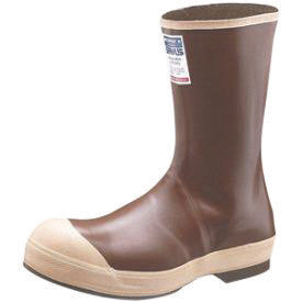 "Servus¨ By Honeywell Size 8 Neoprene III¨ Copper Tan 12"" Neoprene Boots With Chevron Outsole, Steel Toe And Removable Insole"