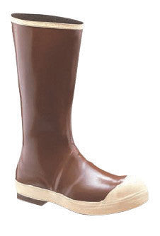 "Servus¨ By Honeywell Size 12 Neoprene III¨ Copper Tan 16"" Neoprene Boots With Chevron Outsole, Steel Toe And Removable Insole"