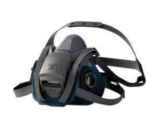 3M'Ñ¢ 6500 Series Rugged Comfort Reusable Respirator With 4 Point Harness And Bayonet Connection