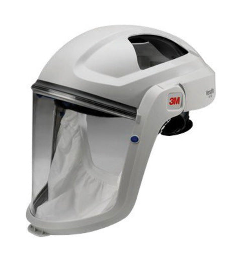 3M'Ñ¢ Gray Polycarbonate Respiratory Faceshield Assembly For 3M'Ñ¢ Versaflo'Ñ¢ M-100, V Series And TR-300 Full Face Respirator With Standard Visor And Faceseal (1 Per Case)