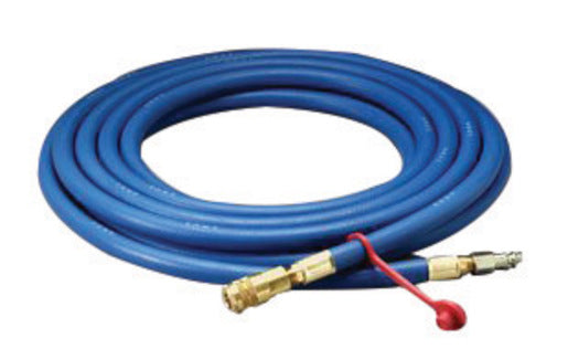 "3M'Ñ¢ 3/8"" X 25' Rubber High Pressure Blue Industrial Interchange Straight Supplied Air Hose"