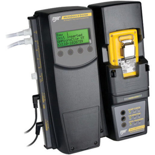 BW Technologies by Honeywell MicroDock II Docking And Charging Module With Power Supply For Use With GasAlertMicroClip XT Multi-Gas Detector