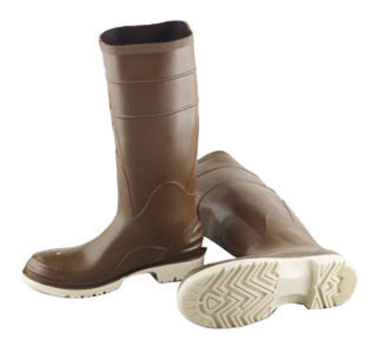 "Onguard Industries Size 13 Polymax® Ultra Brown 16"" PVC Knee Boots With Ultragrip® Sipe Outsole And Removable Insole"