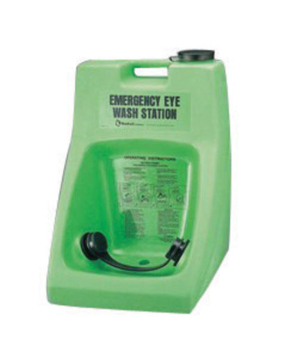 Honeywell 16 Gallon Fendall Porta Stream® II 15 Minute Emergency Eye Wash Station With 180 Ounce Saline Concentrate