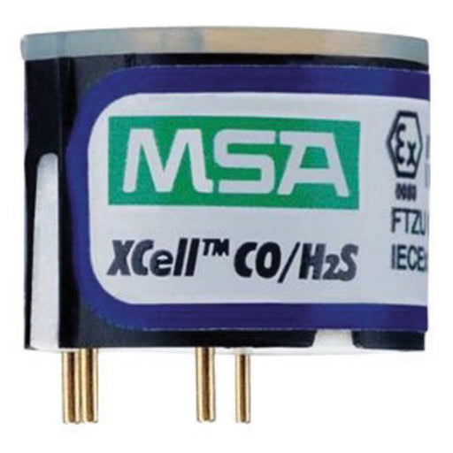 MSA Replacement Duo-Tox (Hydrogen Sulphide And Carbon Monoxide) Sensor With Alarms @ 10/1700 PPM For Use With ALTAIR® 4X/5X Multi-Gas Detector