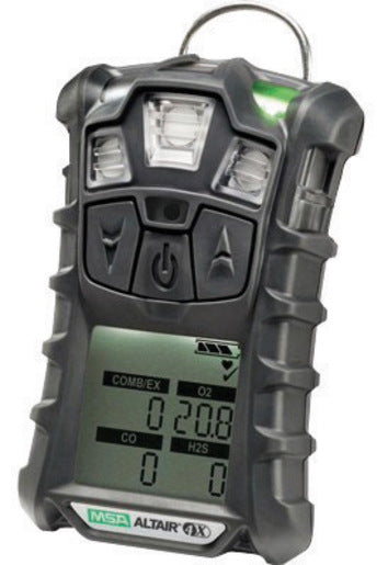 MSA Charcoal ALTAIR® 4X Portable Combustible Gas And Oxygen Monitor With Rechargeable Battery And Motion Alert