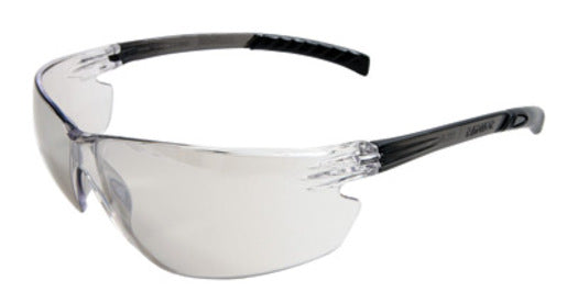 Radnor® Classic Plus Series Safety Glasses With Gray Frame And Clear Polycarbonate Hard Coat Indoor/Outdoor Lens
