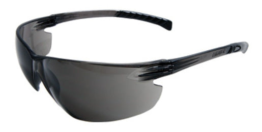 Radnor® Classic Plus Series Safety Glasses With Gray Frame And Gray Polycarbonate Hard Coat Anti-Fog Lens