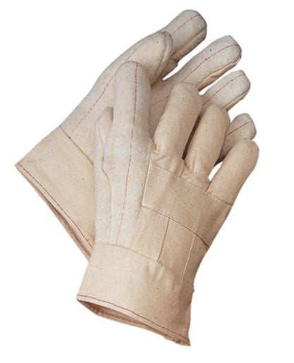Radnor® Standard-Weight Nap-Out Hot Mill Glove With Band Top Cuff