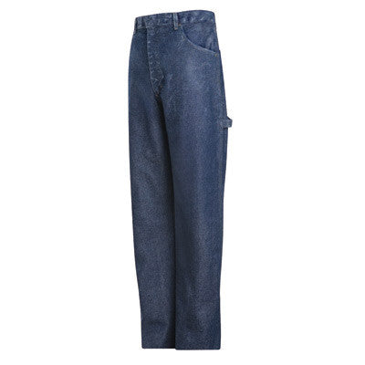 "Bulwark¨ 30"" X 30"" Stone Wash Cotton Denim Excel FR¨ Flame Resistant Jeans With Button Closure"