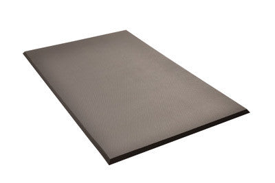 "Superior Manufacturing Notrax¨ 3' X 8' Black 3/4"" Thick PVC Nitrile Foam Superfoam¨ Plus Light Weight Perforated Anti-Fatigue Mat"