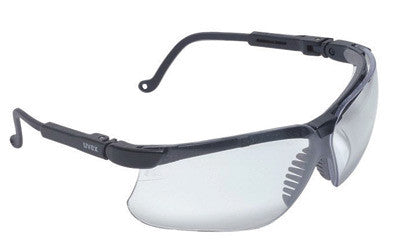 Uvex By Honeywell Genesis¨ Safety Glasses With Black Polycarbonate Frame And Espresso Polycarbonate Uvextreme¨ Anti-Fog Lens