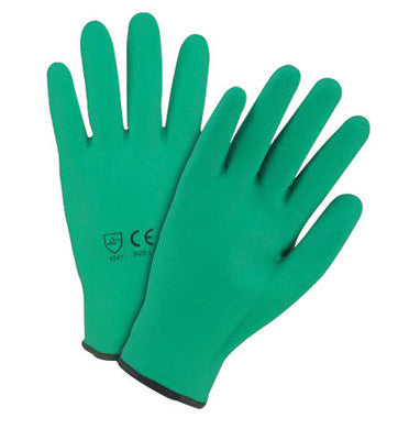 West Chester Medium Green 10 gauge Dipped Cut Resistant Gloves With