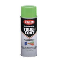 Krylon® Products Group 16 Ounce Aerosol Can Fluorescent Red And Orange Tough Coat® Acrylic Enamel Paint