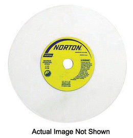 "Norton® 4"" X 1/2"" X 3/4"" 60 Grit Medium 38A60-KVBE Aluminum Oxide GEMINI® Vitrified Type 1 Straight Grinding Wheel For Use On Steel (Quantity 10)"