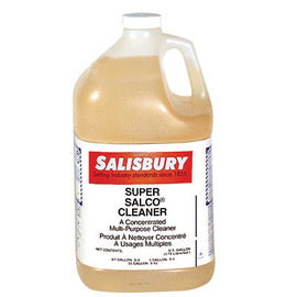 Salisbury by Honeywell 1 Gallon Jug Light Amber Liquid Super Salcon® Detergent