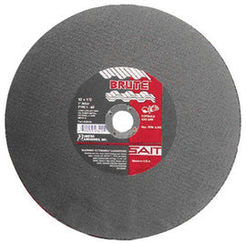 "United Abrasives 12"" X 1/8"" X 1"" Brute™ Proprietary Blend Type 1 Cut Off Wheel (Quantity 10)"