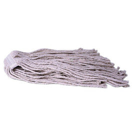 Weiler® 16 Ounce 8-Ply Cotton Yarn Industrial Grade Cut End Wet Mop Head (Handle Sold Separately)