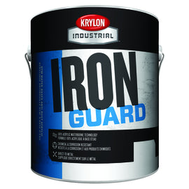 Krylon Industrial 1 Gallon Can High Gloss White (As Packaged Or Tinted) Iron Guard® Water-Based Acrylic Enamel