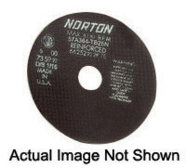 "Norton® 8"" X .0600"" X 1 1/4"" 60 Grit A60-08NA2 Aluminum Oxide Flat Type 1 Straight Cut Off Wheel (Quantity 25)"