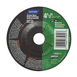 "Norton® 4 1/2"" X 1/4"" X 5/8"" - 11 24 Grit Coarse Silicon Carbide Type 27 Depressed Center Cut Off And Grinding Wheel For Use On Masonry (Quantity 10)"