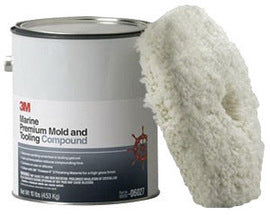 3M™ 1 Gallon Pail Red Solvent Paste Marine Premium Mold And Tooling Compound