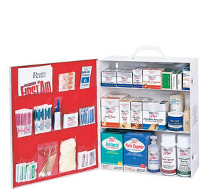 3-Shelf Industrial First Aid Kit