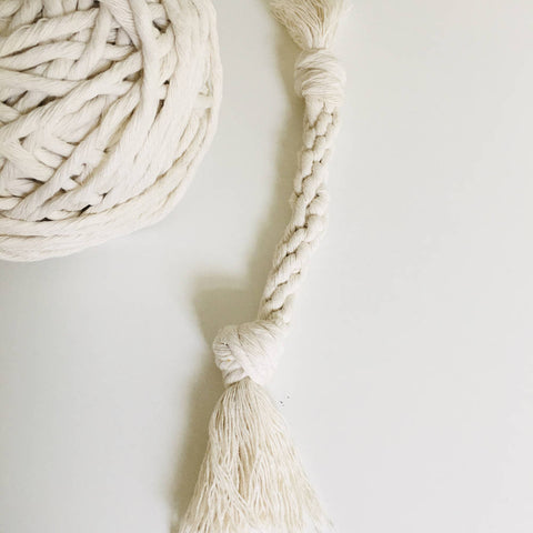 DIY Pet Rope Toy Macrame Craft Kit
