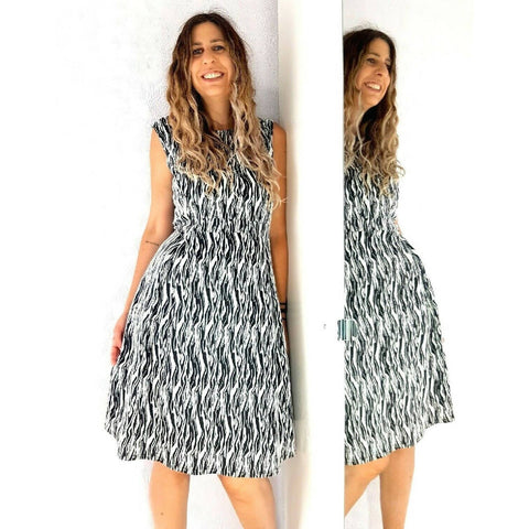 Marina Kaneva A Line Textured Dress 22