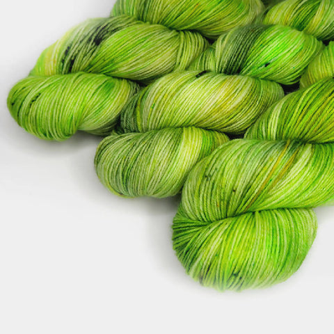 Swamp Thing - Sock 4ply Hand dyed Yarn