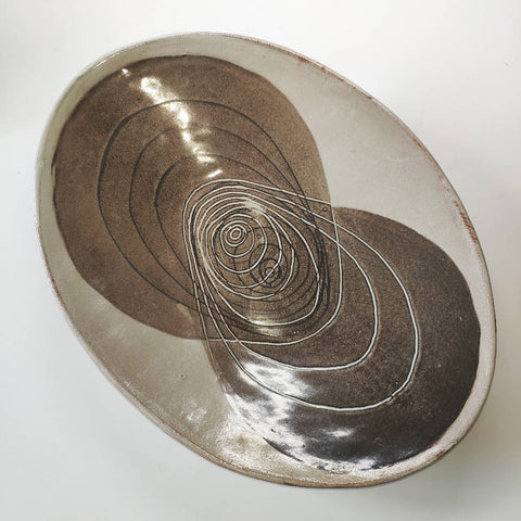 Modernist Studio Pottery Bowl