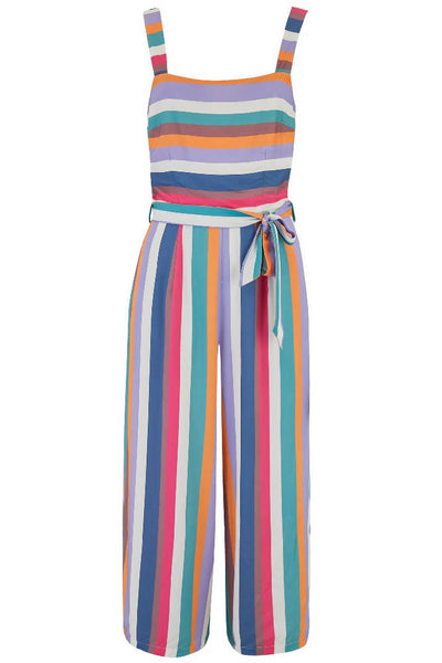 Sugarhill Brighton - Millie Cruise Stripe Culotte Jumpsuit