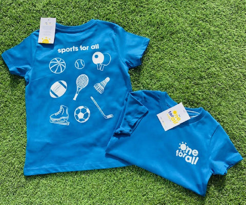 Sports For All - Childrens Organic Tee
