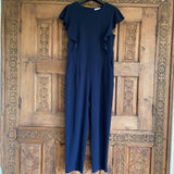 Warehouse navy jumpsuit, 14
