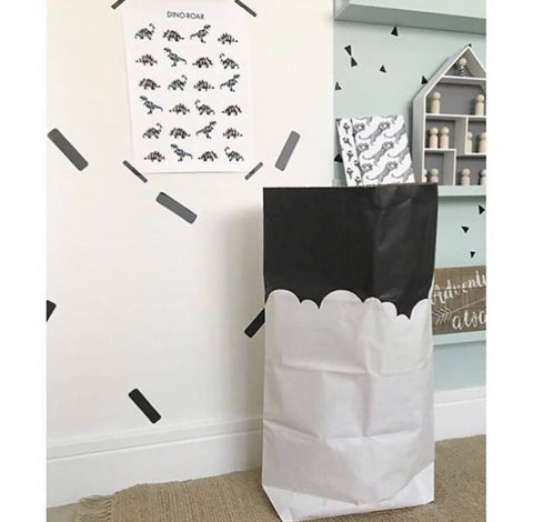 Cloudy Skyline Paper Storage Bag