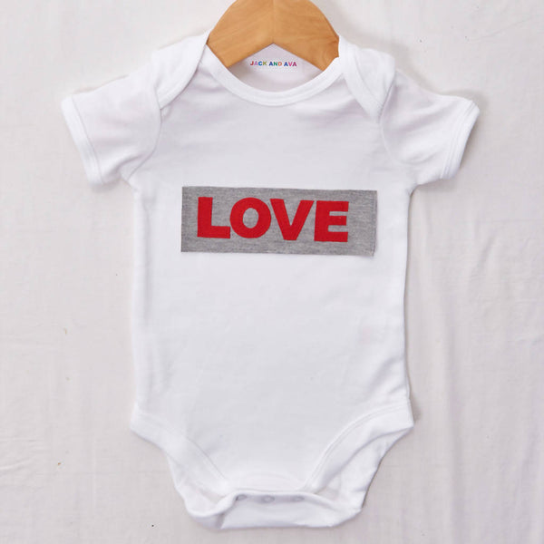 Love Baby grow, size 0-3 months