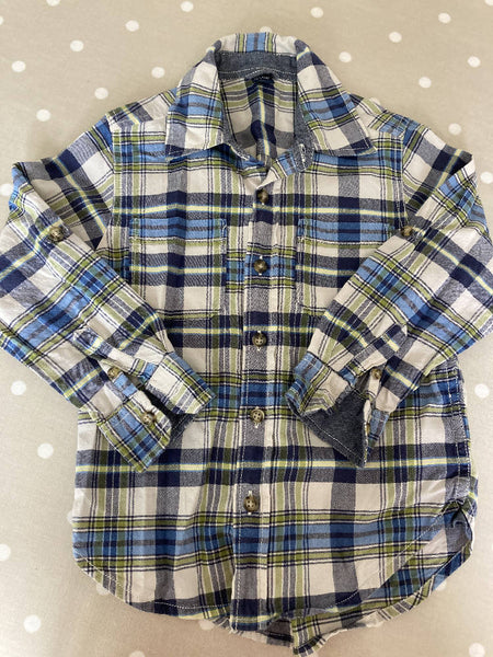 BabyGap long sleeved cotton shirt age 4