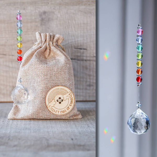 A Pocket Full of Rainbows - Crystal Rainbow Suncatcher