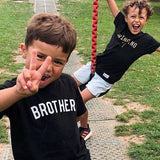 The Grey & Neon BROTHER Kids' Tee