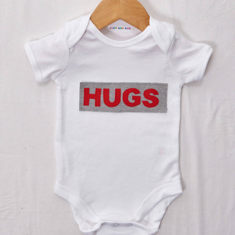 Hugs Baby grow, size 0-3 months