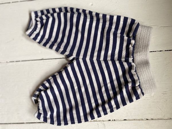 Bobo Choses stripy baby trousers
